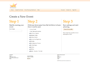 EventDawn Online Event Planning Website