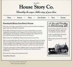 House Story Co. Website Preview